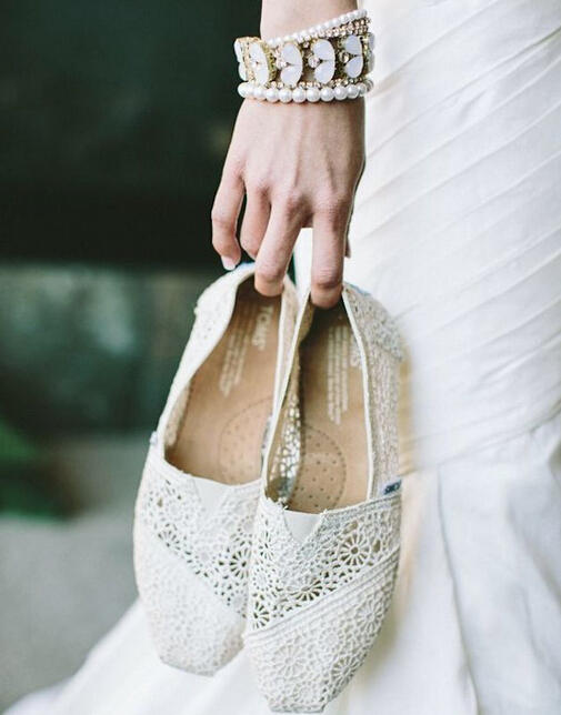 $10 Off any $50 PurchaseWedding Collection  @ TOMS