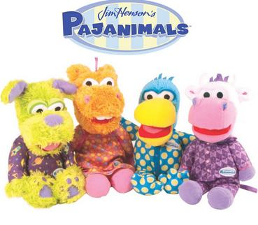 From $18.99Set of 4 Jim Henson's Pajanimals Characters Plush Toy Dolls by TOMY