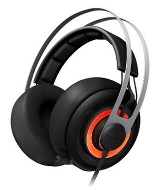 $108.92 SteelSeries Siberia Elite Headset with Dolby 7.1 Surround Sound (Black)