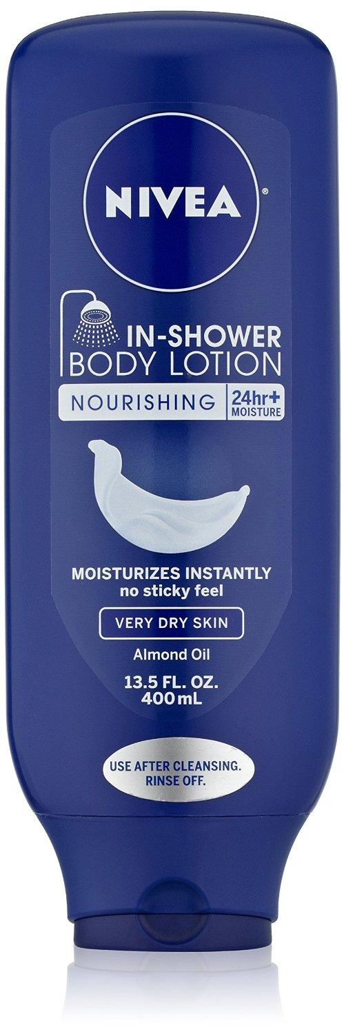 $3.93 Nivea Body In-Shower Nourishing Body Lotion for Very Dry Skin 13.5oz