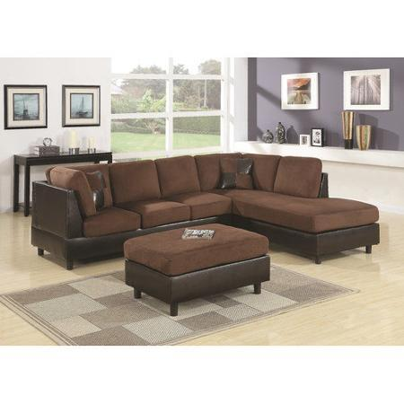 $584.95 Wildon Home Aniela Eazy Rider Sectional with Ottoman