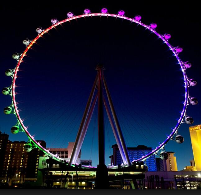 $25 Happy Hour Ride on the High Roller Observation Wheel
