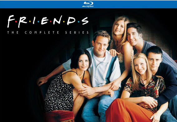 $79.99 Friends: The Complete Series (Blu-ray)