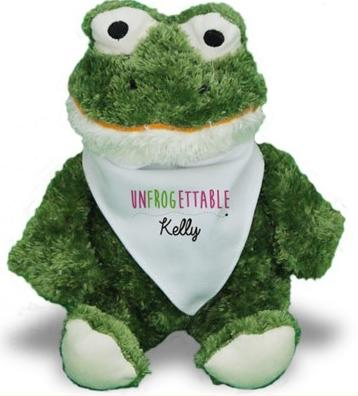 $11.98 Romantic Plush Frog (Dealmoon Exclusive)