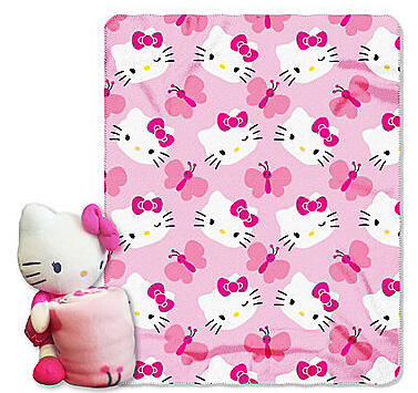 50% Off + Extra 20% Off Select Hello Kitty Throw @ Bon-Ton