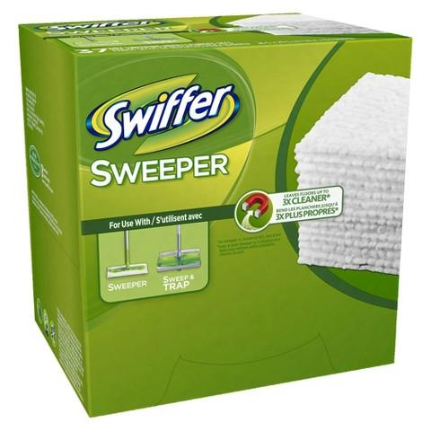 $10 off $40  of Swiffer Sweeper Dry Pad Refills @ Target.com