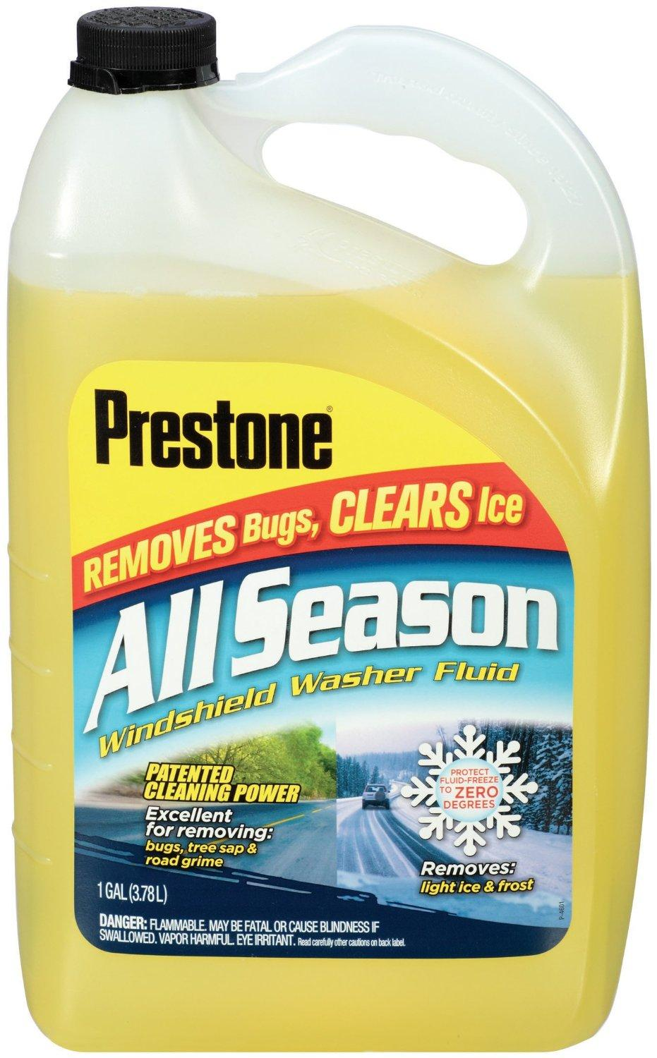 $2.97 Prestone AS259 All Season Windshield Washer Fluid 1 Gallon