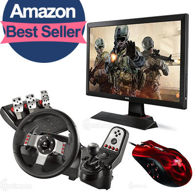 Let's Play! Ultimate PC Gaming Accessories Roundup @ Amazon