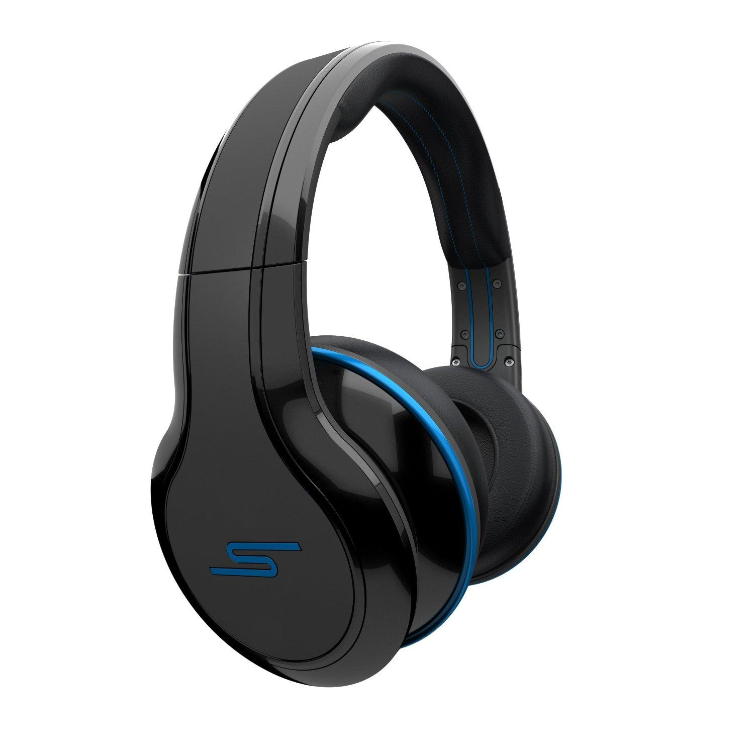 $69.99 STREET by 50 Cent Wired Over-Ear Headphones - Black by SMS Audio