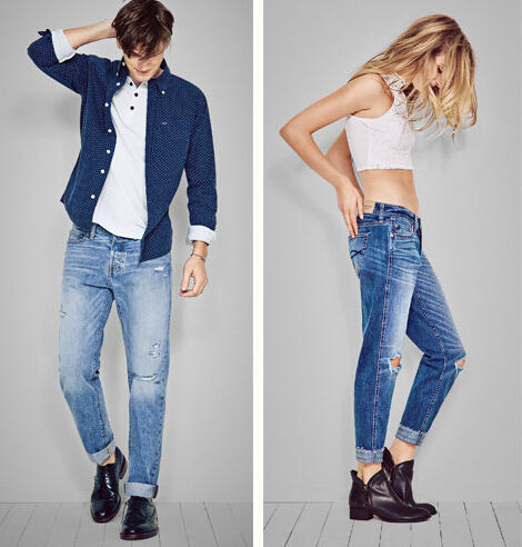 $39 All Men's and Women's Jeans @ Abercrombie & Fitch