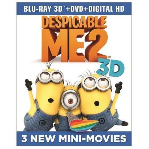 $14.99 Despicable Me 2 (3D Blu-ray + 2D Blu-ray + DVD)