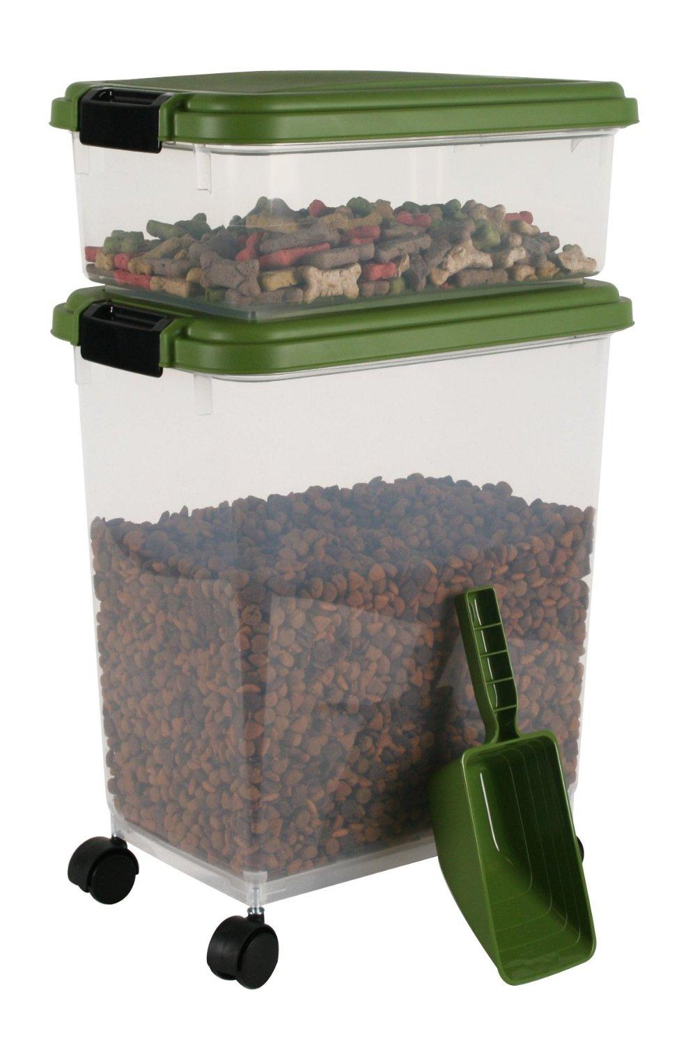IRIS USA, Inc. Airtight Pet Food Container Combo Kit (Various Colors)