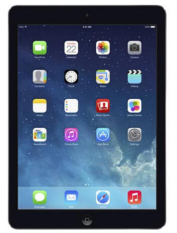 $549.99 Apple iPad Air with Wi-Fi + Cellular - 128GB - (AT&T)