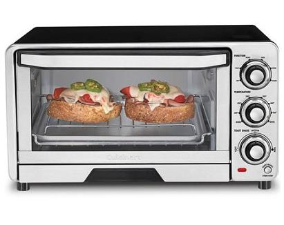 $42.95 (Factory Refurbished) Cuisinart TOB-40 Custom Classic Toaster Oven Broiler