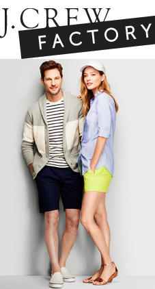 Free Voucherfor Up to Extra 35% Off J.Crew Factory (In-Store or Online) @ Gilt City