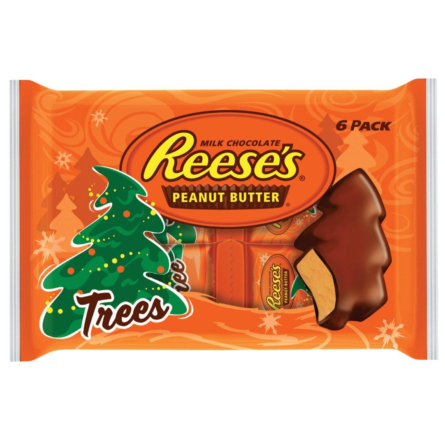 $6.77 Reese's Peanut Butter Trees 6 Pack, 7.2-ounce (Pack of 4)