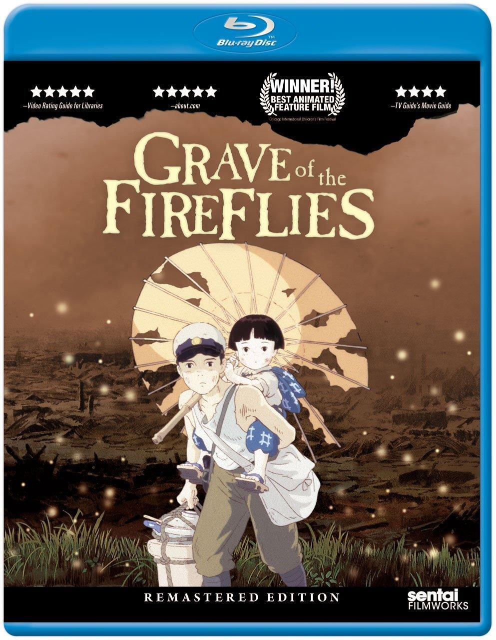 $14.99 Grave of the Fireflies [Blu-ray Remastered]