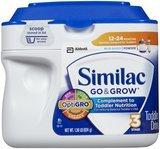 $10 Off Select Cases of Similac Fomul...