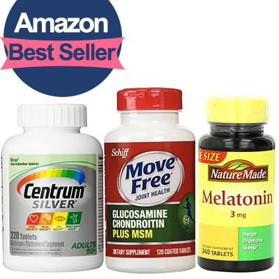 From $7.94 #1 Best Seller Personal Health & Nutrition Products Roundup @ Amazon