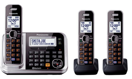$89.95 Link2Cell Bluetooth®/3 Handsets KX-TG7873S