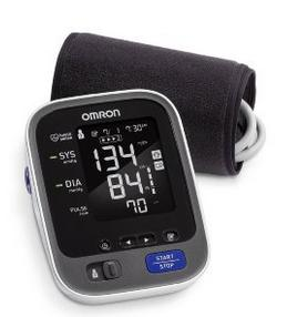 Omron BP786 10 Series Upper Arm Blood Pressure Monitor with Bluetooth Smart with Expandable Cuff to fit Medium and Large Arms