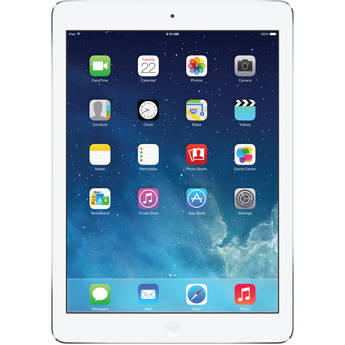 $529.99 Apple 128GB iPad Air (Wi-Fi + 4G LTE, Silver) MF563LL/A