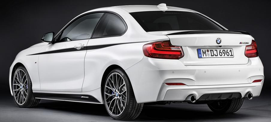 This new model will start arriving in dealerships this monthBMW M235i xDrive Coupe @ Geneva Auto Show