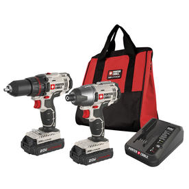 PORTER-CABLE 20-Volt Lithium Ion Cordless Combo Kit with Soft Case