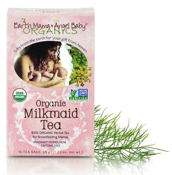 $2.89 Earth Mama Angel Baby Milkmaid Nursing Tea, 16 Count