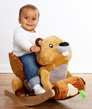 Up to 65% Off Critters by Rockabye Kids Rockers @ Zulily