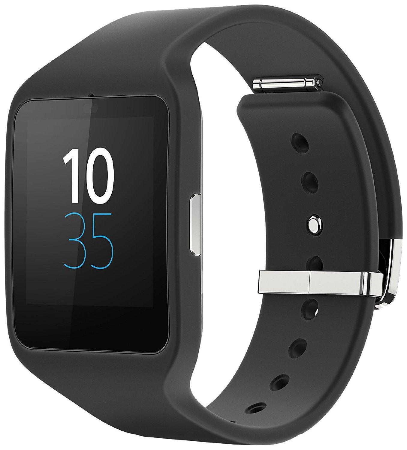 $191.99 Sony Mobile Sony® SW3 SmartWatch 3 SWR50 Powered by Android Wear (Black)