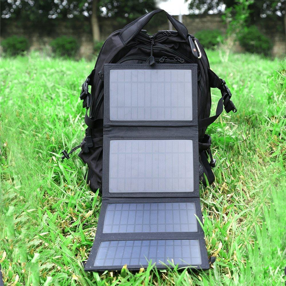 $38 Keedox 14W Dual-Port Portable Foldable Outdoor Solar Charger