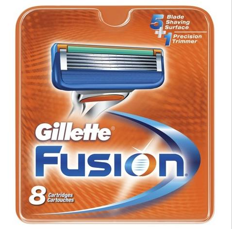 $15.99 Gillette Fusion® Manual Cartridges - 8 Cartridges