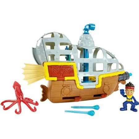 $17.1 Fisher-Price Disney Jake And The Neverland Pirates Rolling Submarine Bucky