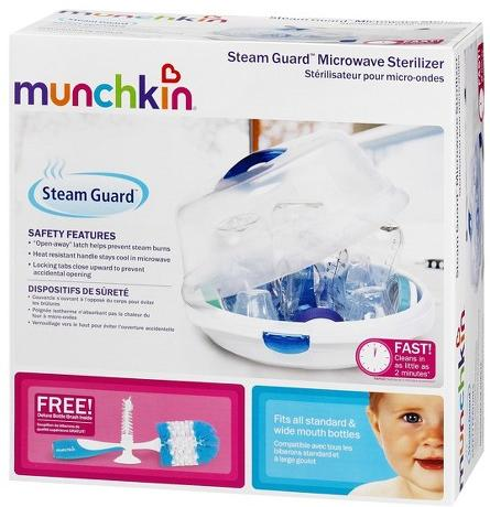 $15.99 Munchkin Steam Guard Microwave Sterilizer