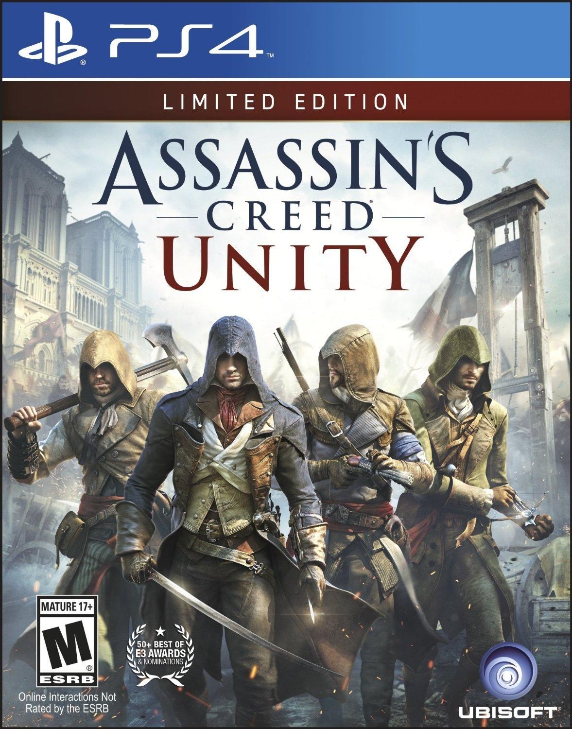 $19.99 Assassin's Creed Unity (PlayStation 4 Or Xbox One)