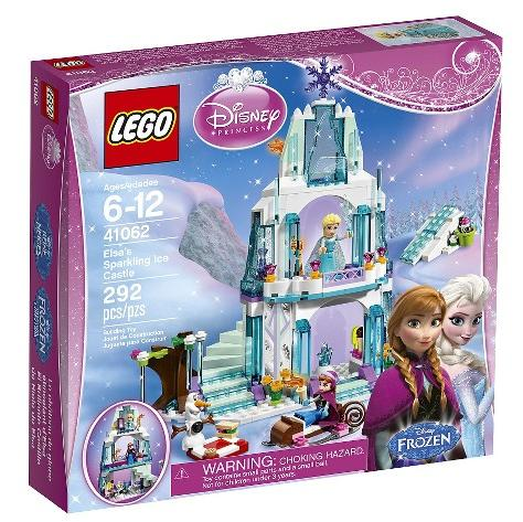 $31.99 LEGO Frozen Disney Princess Elsa's Sparkling Ice Castle 41062