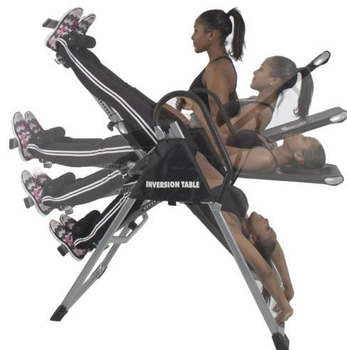 Best Choice Inversion Table Pro Deluxe Fitness Chiropractic Table  SKY83