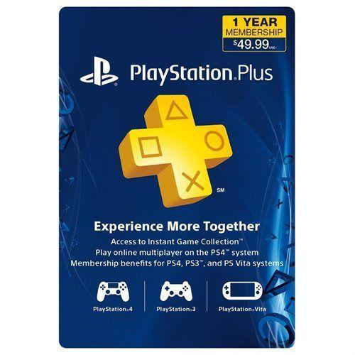 $39.99 1-Year PlayStation Plus Membership