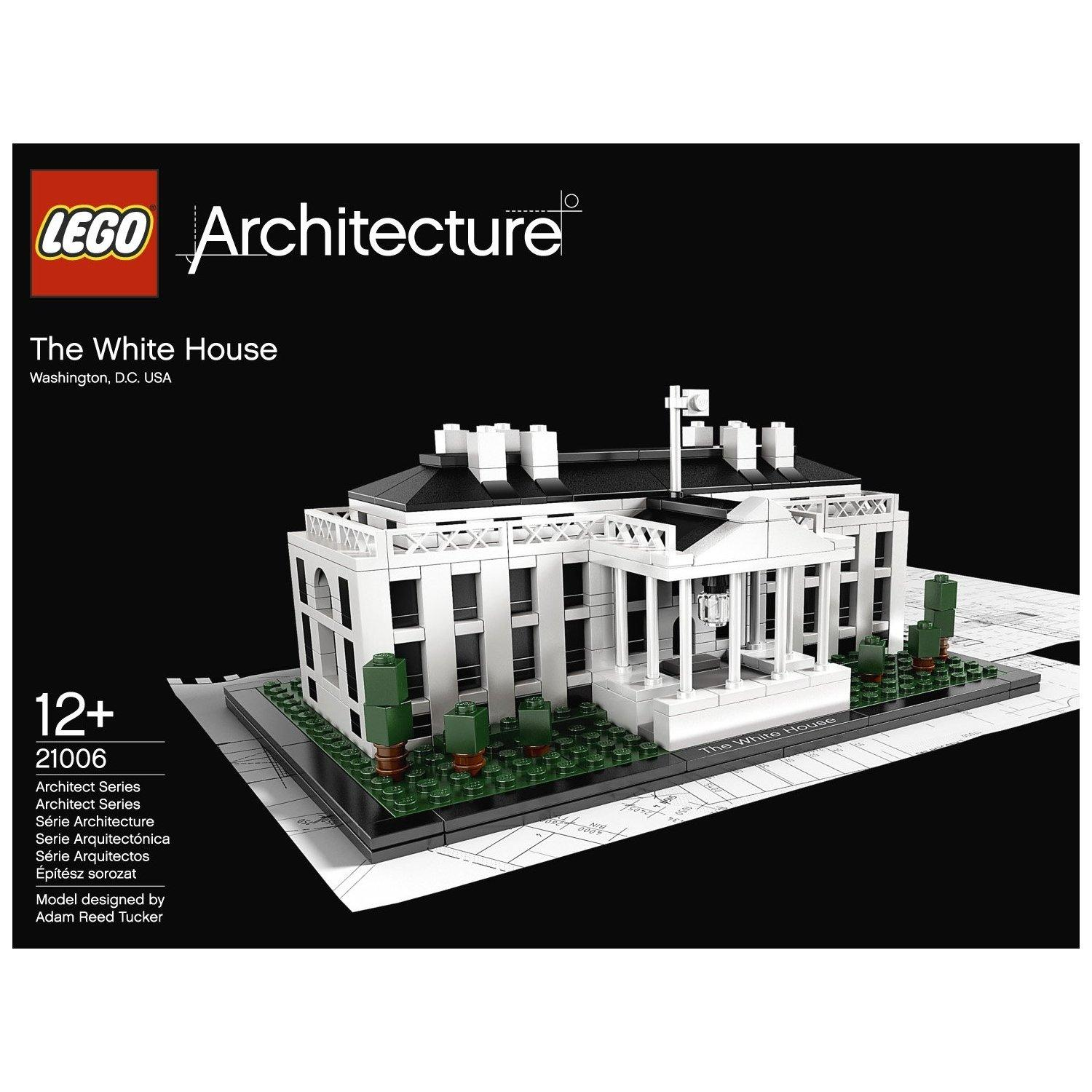 $39.99 LEGO Architecture White House 21006