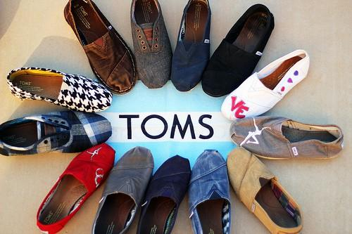 Up to 65% off Toms Shoes Sale