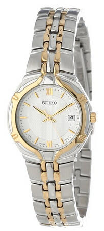Seiko Women's SXD646 Two-Tone Stainless Steel Watch