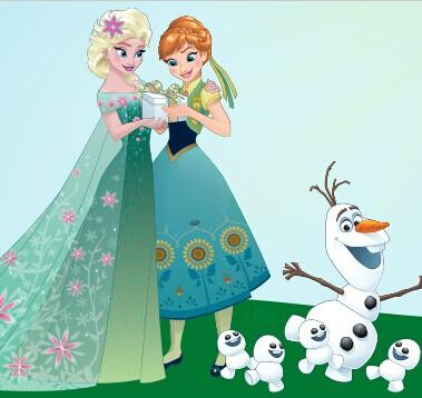 From $3.99 Frozen Fever Collection @ Zulily