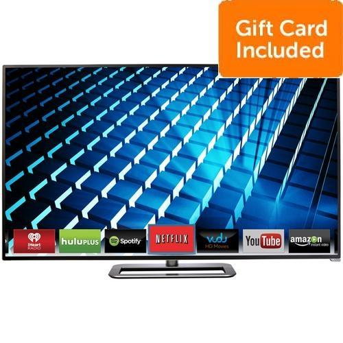"VIZIO 60"" M602i-B3 240Hz 1080p Smart HDTV + $150 Dell eGift Card + 2 Year Warranty"