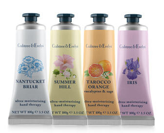 Only $14 For Each 100g Hand Therapy @ Crabtree & Evelyn