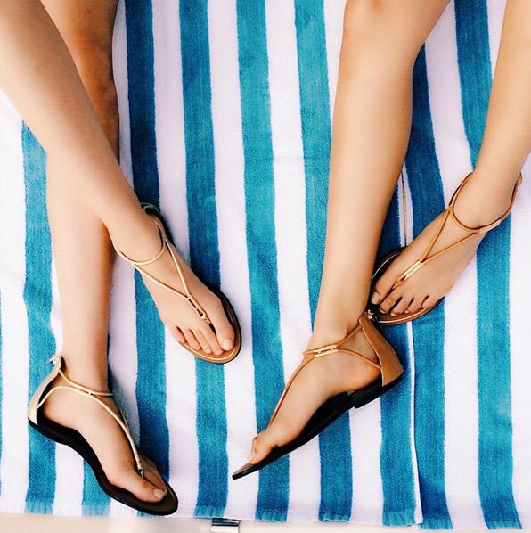 Up to 69% Off Dolce Vita T-Strap Sandals @ 6PM.com