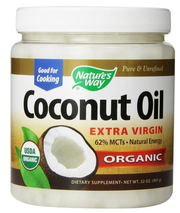 $15.98 Nature's Way Extra Virgin Organic Coconut Oil, 32-Ounce