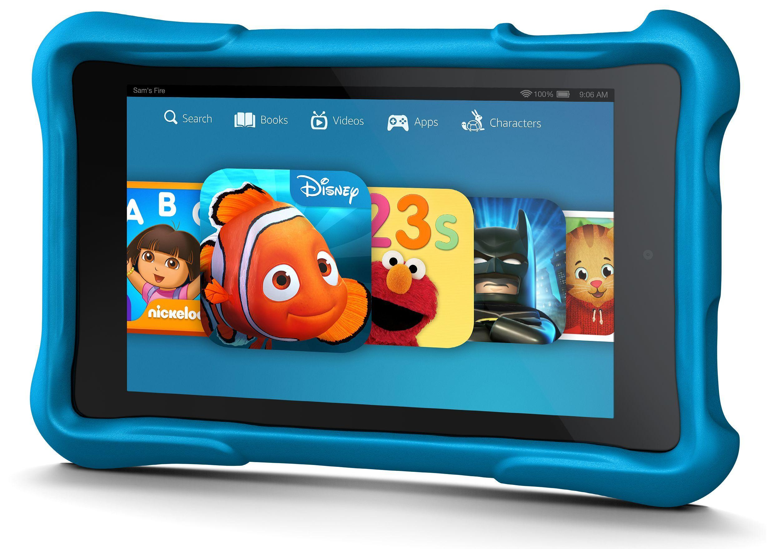 "$124 6"" Fire HD Kids Edition Tablet"