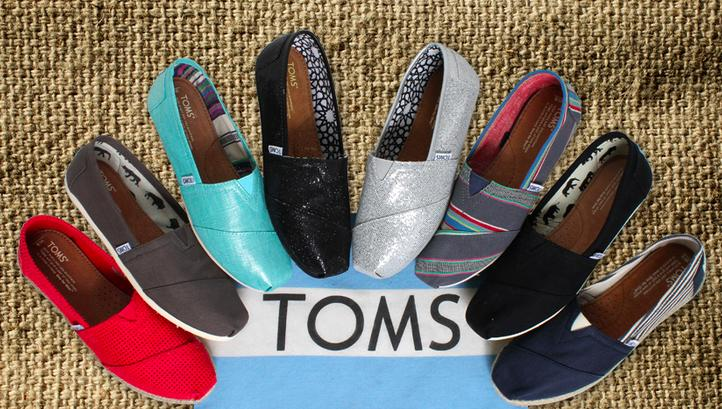 $10 Off $65 Select Full-Priced TOMS Purchases @ TOMS