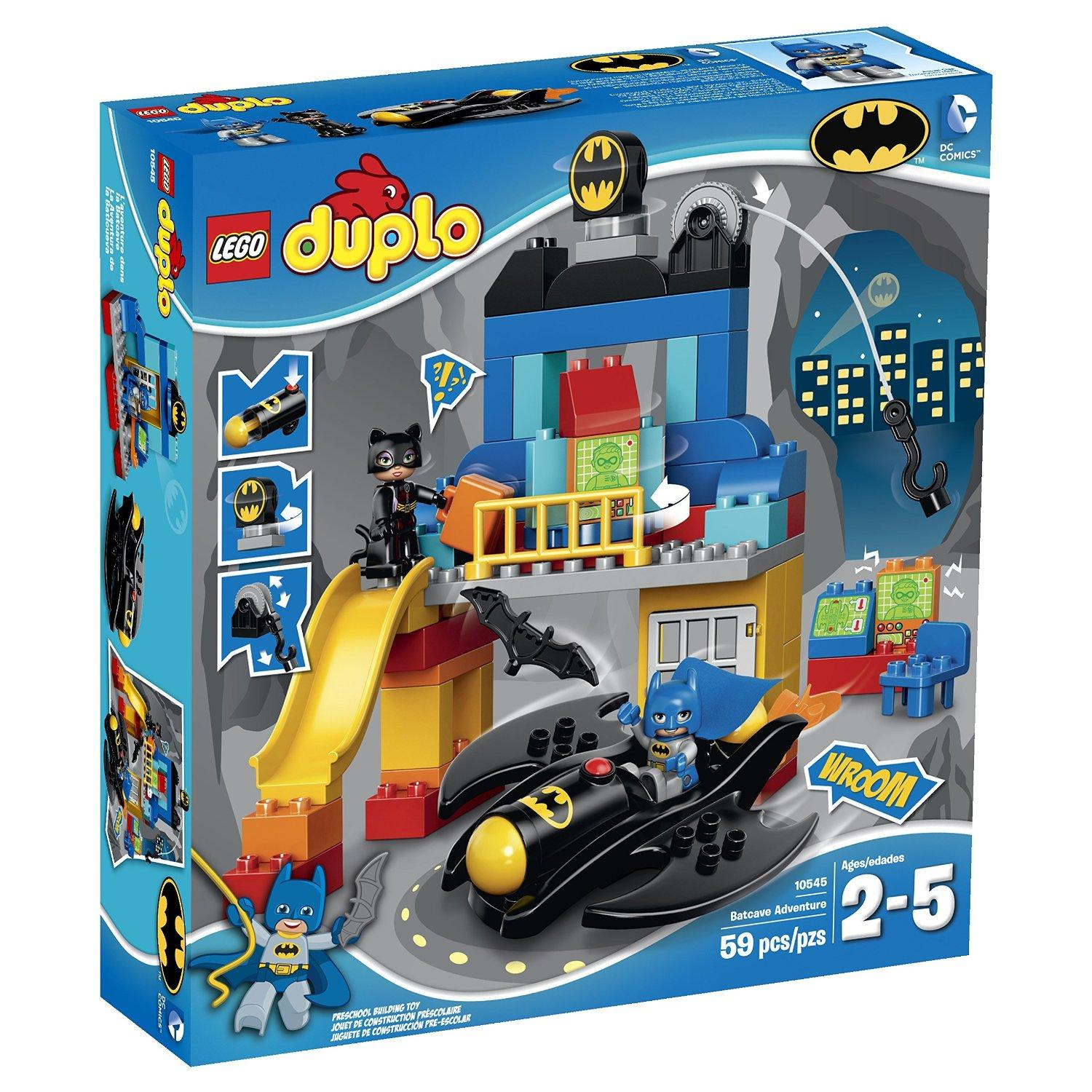 Only for Prime Members! LEGO Super Heroes Batcave Adventure